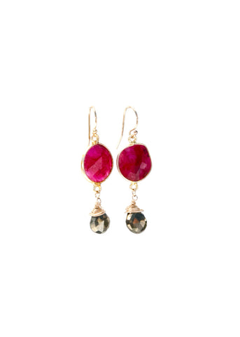 Victoria Fig Earrings (More Colors) Mothers Day Special