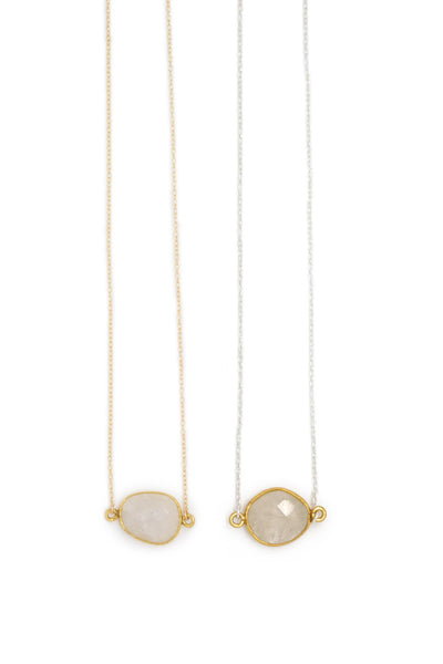 Mrs. Parker Necklace in Moonstone
