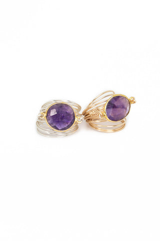 The Torrey Ring in Amethyst