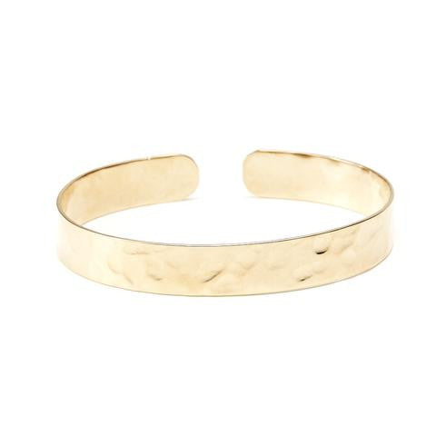 Summerland Hammered Gold Cuff