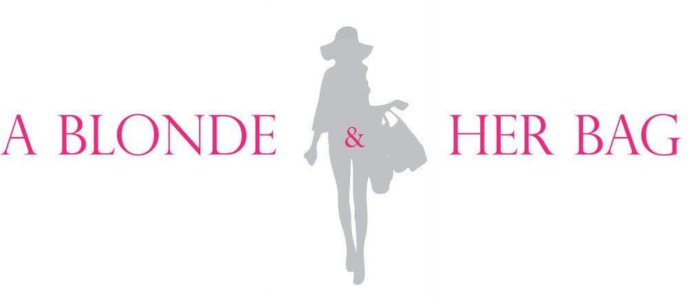 A Blonde and Her Bag logo
