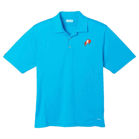 Mens Turquoise Polo Shirt