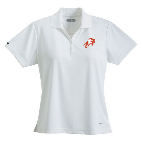 Womens White Polo Shirt