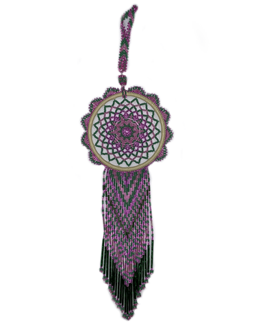 Beaded Dream Catcher DC17