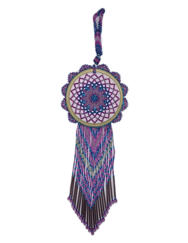 Beaded Dream Catcher DC4