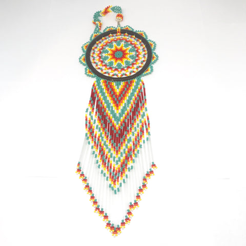 Beaded Dream Catcher DC6