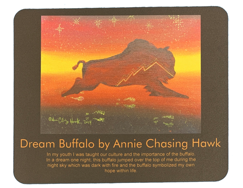 Dream Buffalo Mouse Pad