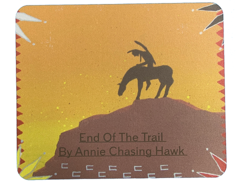 End of the Trail Mouse Pad