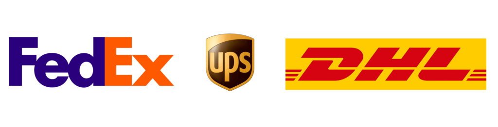 fedex dhl ups free express shipping