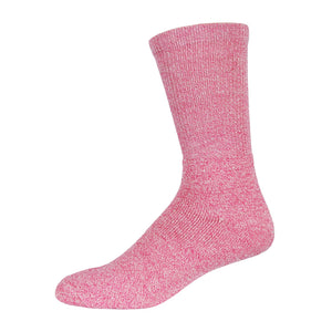 Thermal diabetic socks pink