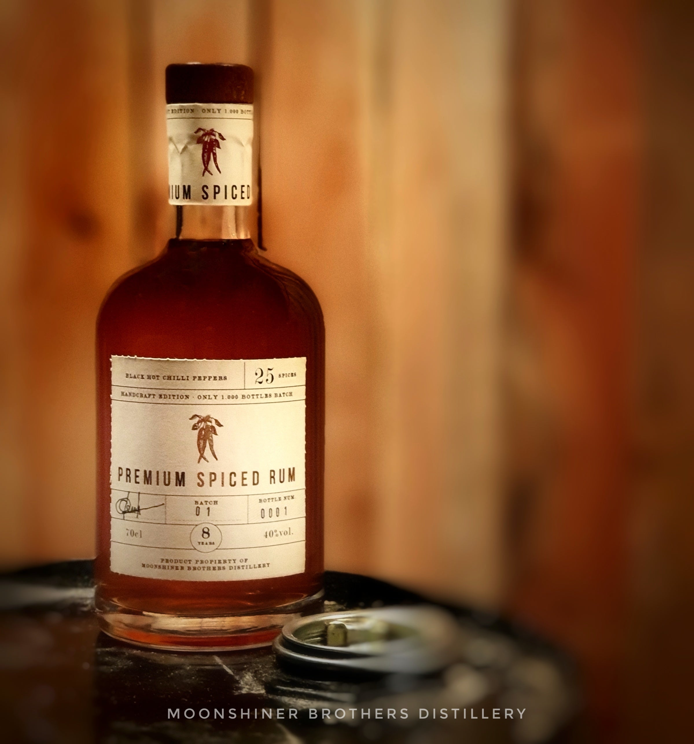 Moonshiner Brothers Premium Spiced Rum