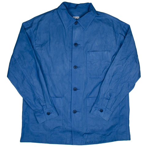 Arpenteur - ADN Jacket HD Cotton Gabardine - Natural Woad Blue