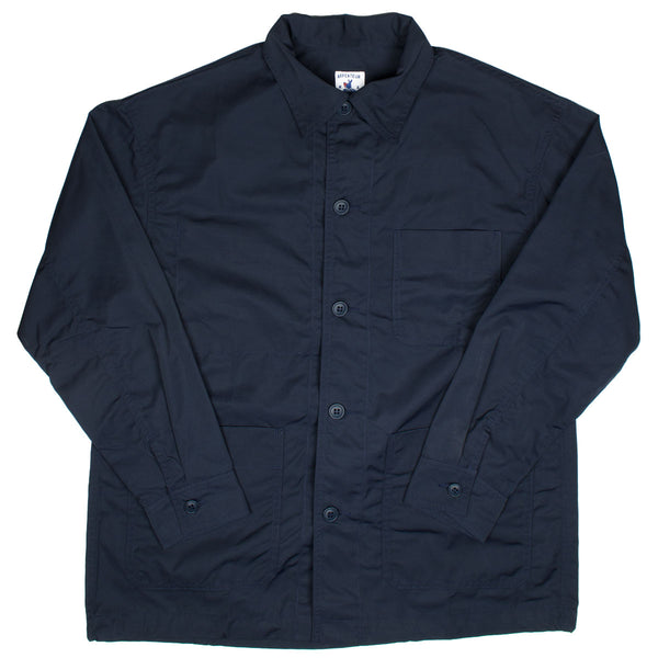 Arpenteur - ADN Jacket Nylon Canvas - Navy
