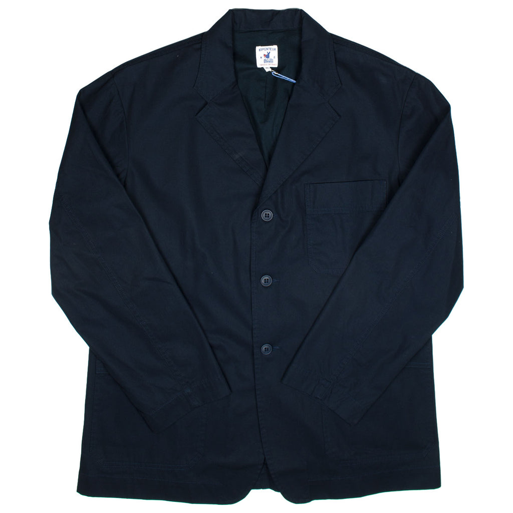 Arpenteur - Atelier Jacket HD Cotton Gabardine - Navy