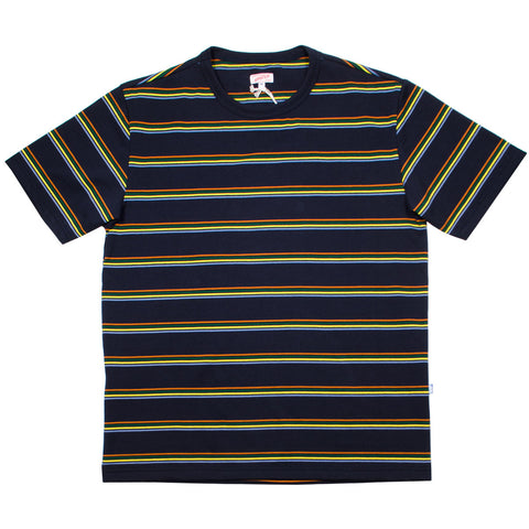 Arpenteur - Match T-shirt - Navy / Orange / Green / Yellow / Blue