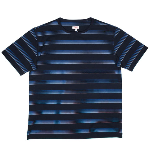 Arpenteur - Match T-shirt - Navy / Quadruple Blue