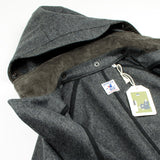 Arpenteur - Mevi Melton Wool Coat - Grey