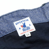 Arpenteur - Pétanque Work Pants - Navy Cotton Herringbone