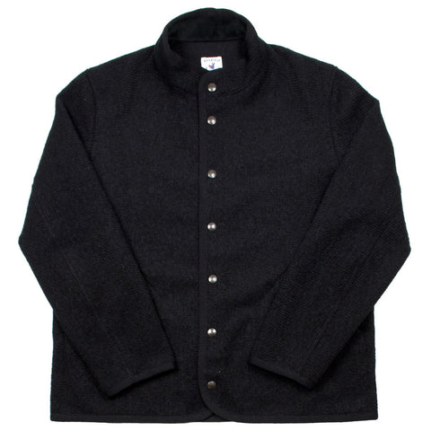 Arpenteur - Rachel Boiled Wool Jacket - Black