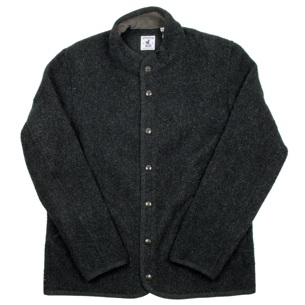 Arpenteur - Rachel Wool Jacket - Charcoal