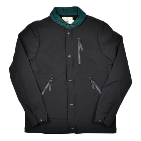 AXS Folk Technology - Tech Fleece Trail Coat - Black