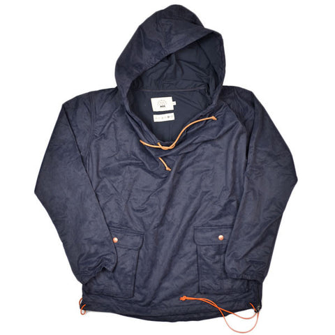 AXS Folk Technology - Wideneck Anorak - Leopard Navy / Black