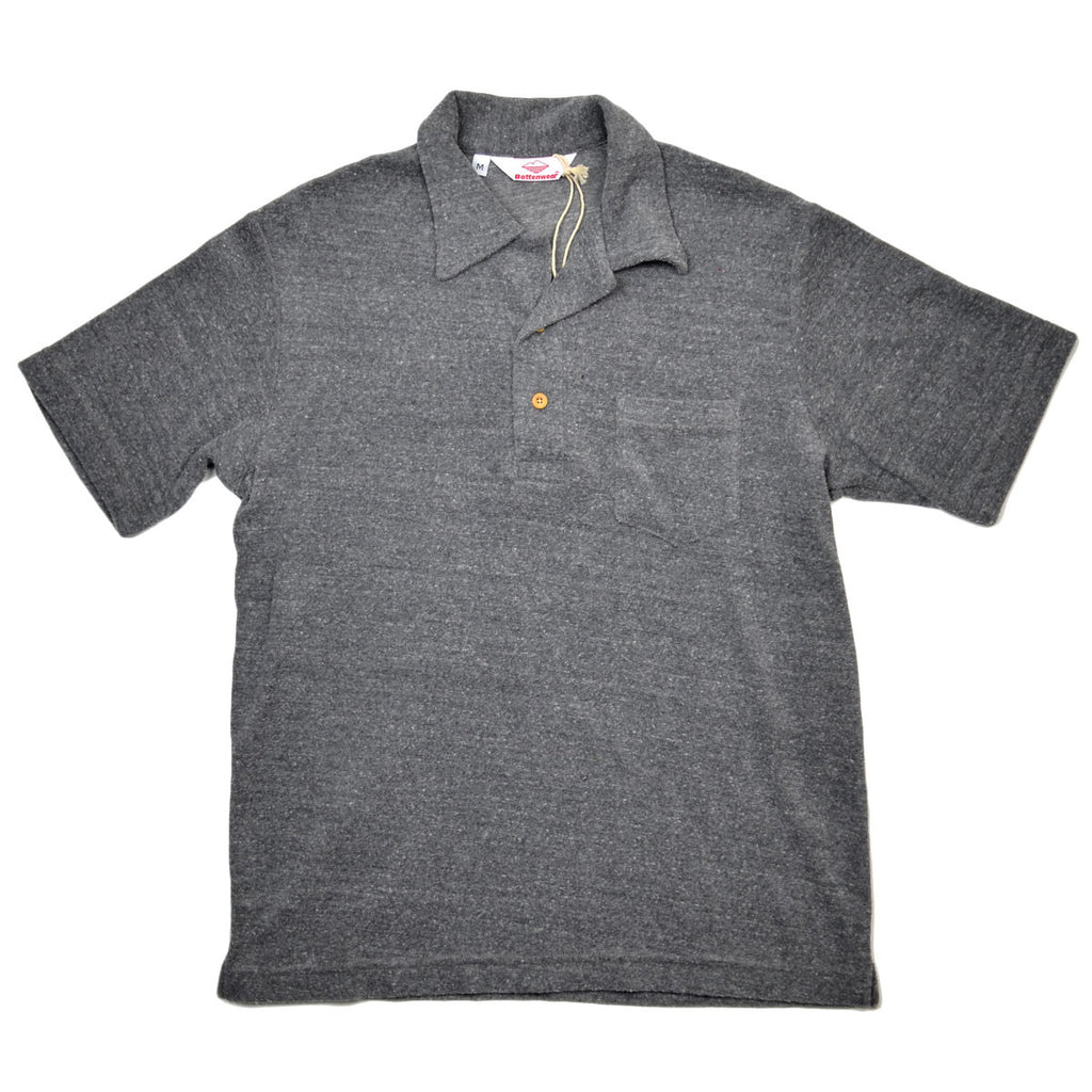 Battenwear - Boardwalk Polo - Heather Grey