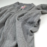 Battenwear - Gym Sweat Jacket - Heather Grey