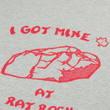 Battenwear - I Got Mine Printed T-shirt - Heather Grey