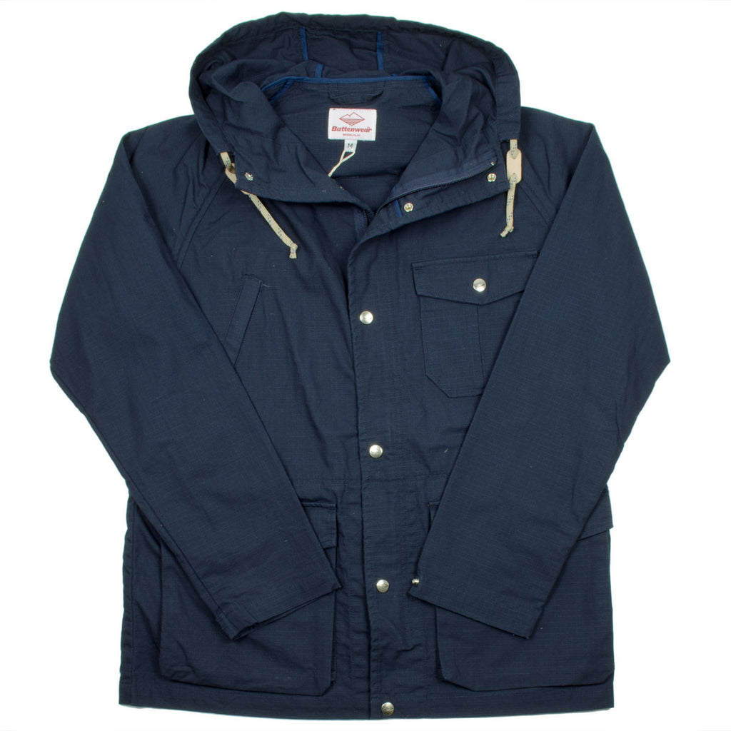 Battenwear - Light Shell Ripstop Parka - Dark Navy