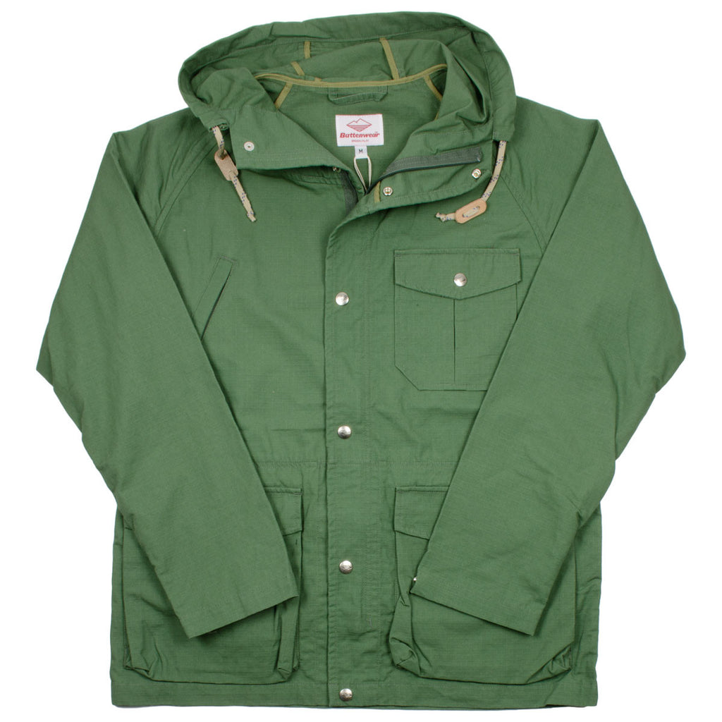 Battenwear - Light Shell Ripstop Parka - Olive Drab