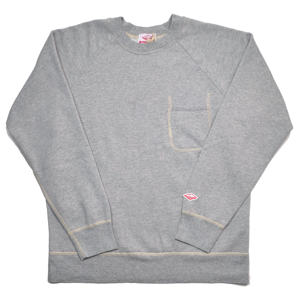 Battenwear - Reach-Up Sweatshirt - Heather Grey