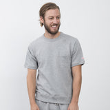 Battenwear - Short-sleeve Reach-up Sweatshirt - Grey