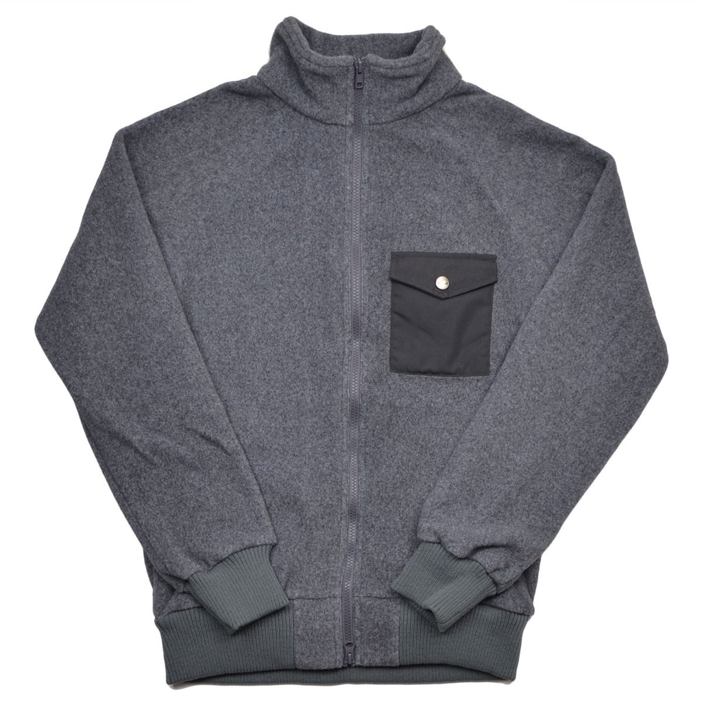 Battenwear - Warm-up Polar Fleece - Heather Grey