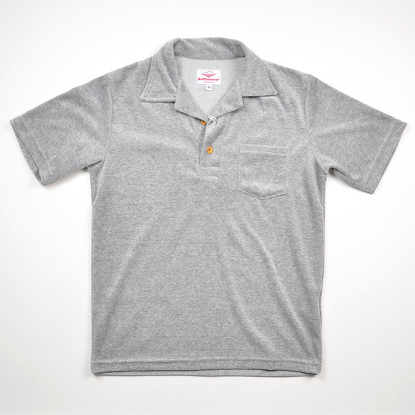 Battenwear – Boardwalk Polo – Heather Grey