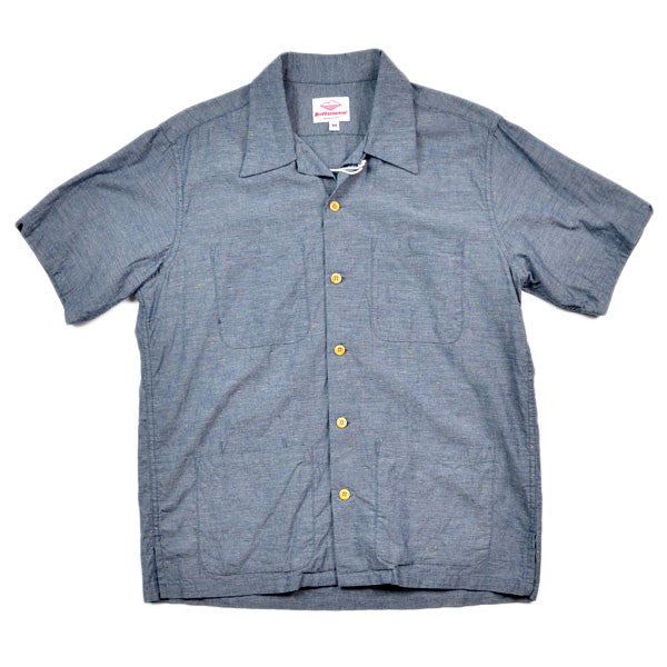 Battenwear – Five-Pocket Island Shirt – Chambray Speckle
