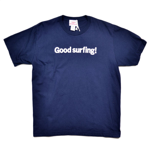 Battenwear – Good Surfing T-Shirt – Navy