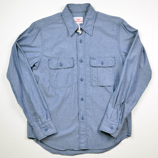 Battenwear – Work Shirt – Light Blue Chambray