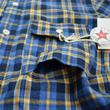 Battenwear – Work Shirt – Navy Plaid