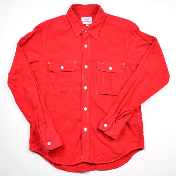 Battenwear – Work Shirt – Red Flannel
