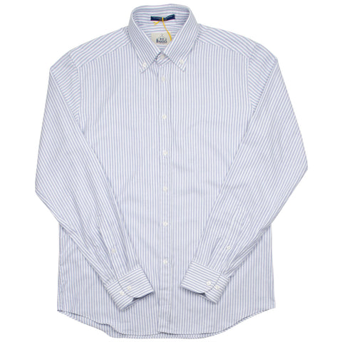 BD Baggies - Bradford BD Shirt - Brushed Oxford Striped