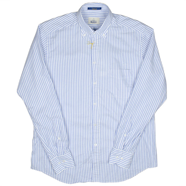 BD Baggies - Bradfort BD Shirt With Pocket - Blue Stripes