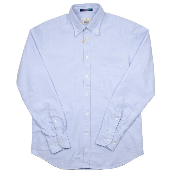 BD Baggies - Bradfort BD Shirt With Pocket - Oxford Light Blue