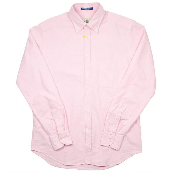 BD Baggies - Bradfort BD Shirt With Pocket - Oxford Pink