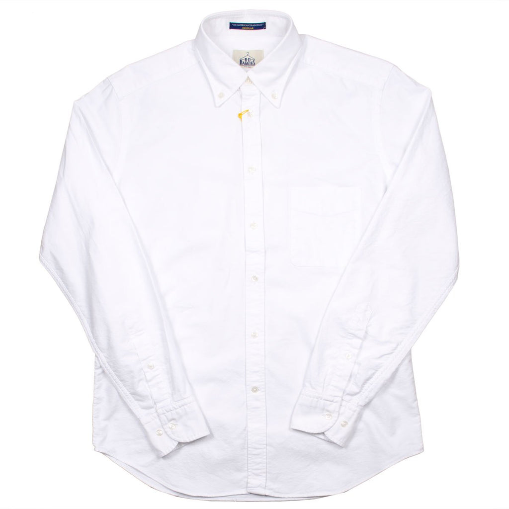 BD Baggies - Bradfort BD Shirt With Pocket - Oxford White