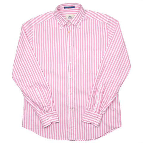 BD Baggies - Bradfort BD Shirt With Pocket - Pink Stripes