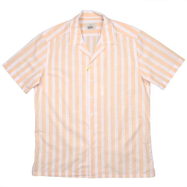 BD Baggies - Hawaiian Shirt - Yellow Stripes