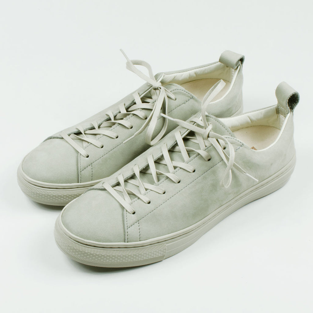 Buddy - Bull Terrier Low Chubby Tonal Nubuck Sneakers - All Grey