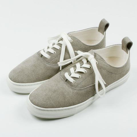 Buddy - Dachs Low Suede Sneakers - Grey