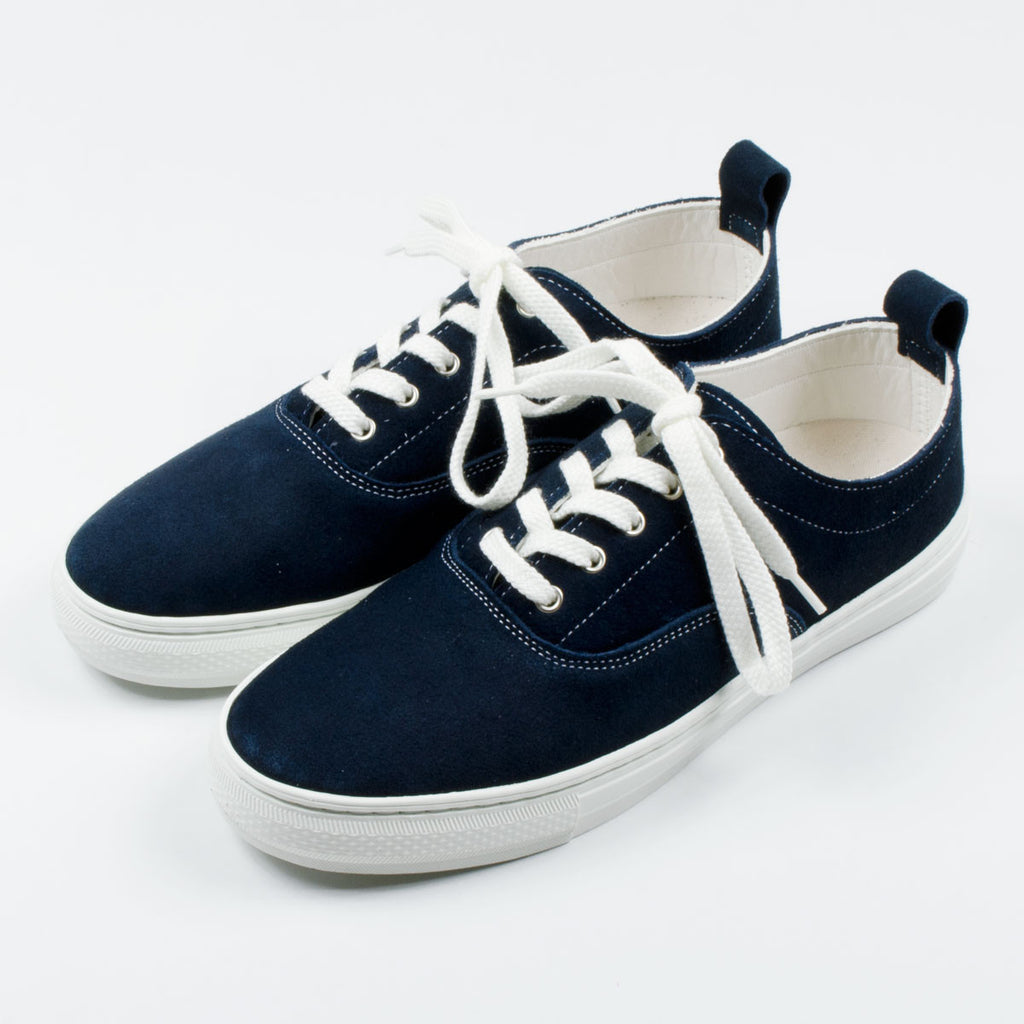 Buddy - Dachs Low Suede Sneakers - Navy